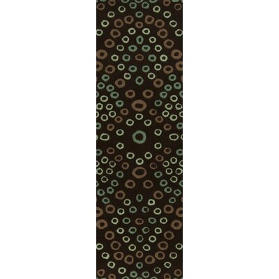 Malene b Destinations Dark Chocolate Rug