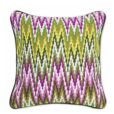 Jonathan Adler Bargello Sandpiper Drive Wool Pillow