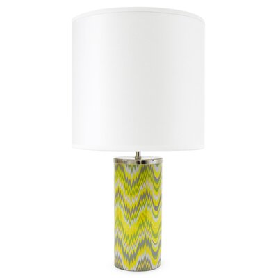 Jonathan Adler Carnaby 1 Light Acid Palm Small Table Lamp