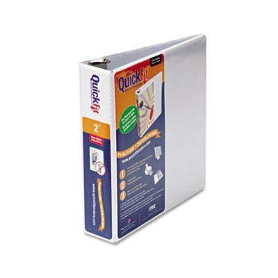 "Stride, Inc. Quick Fit D-Ring View Binder, 2"" Capacity"
