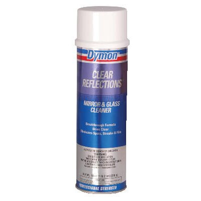 Dymon® Clear Reflections Mirror and Glass Cleaner Aerosol