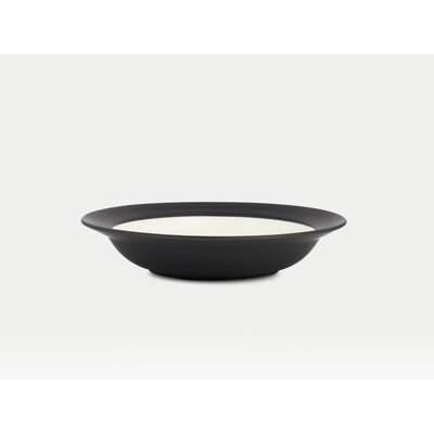 Noritake Colorwave Graphite Rim Pasta / Soup Bowl (Set of 4)
