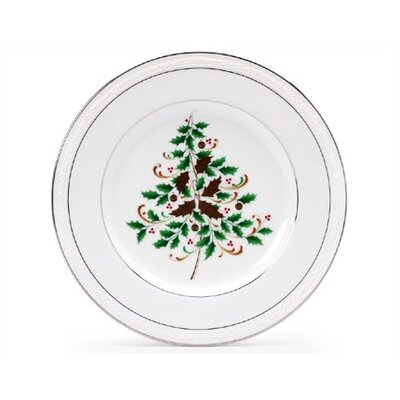 "Noritake Stoneleigh 8.5"" Holiday Accent Plate"