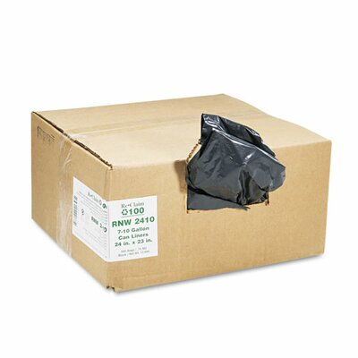 EarthSense® Commercial Heavy Grade Recycled Can Liners (Pack of 500)