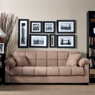 Handy Living Convert-A-Couch Sleeper Sofa