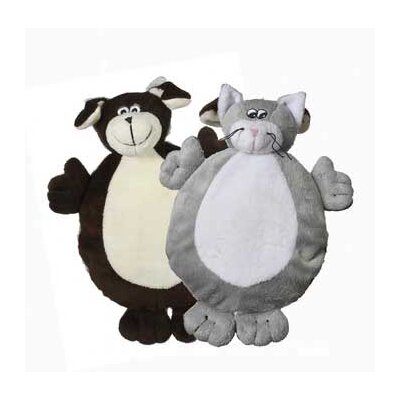 MultiPet Two Faced Dog and Cat Plush Toy