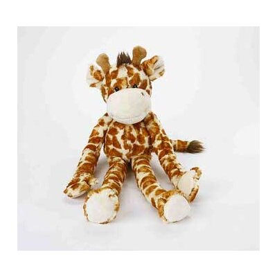 MultiPet Swingin Safari Giraffe Plush Toy