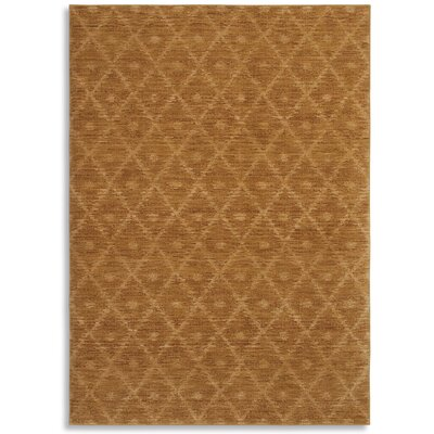 Woven Impressions Diamond Ikat Curry Rug