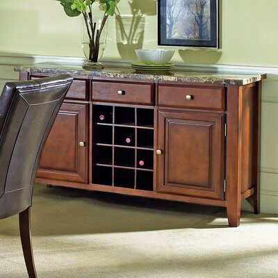 Steve Silver Furniture Montibello Wine Rack and Server