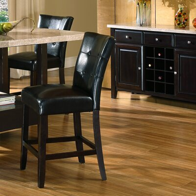Steve Silver Furniture Monarch 3 Piece Pub Table Set in Multi-Step Black