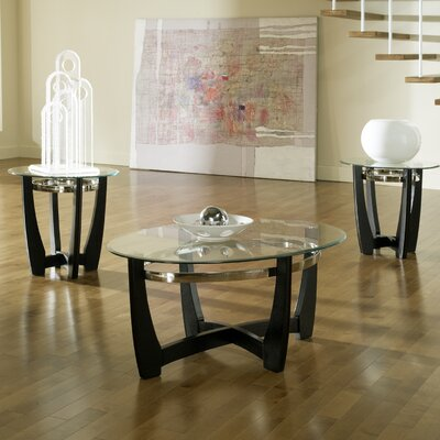 Steve Silver Furniture Matinee 3 Piece Coffee Table Set