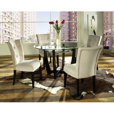 Steve Silver Furniture Matinee 5 Piece Dining Set