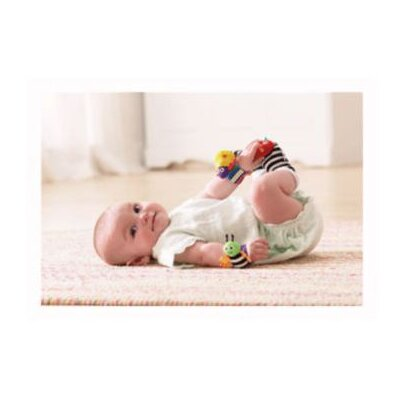 Lamaze Wrist Rattle Set
