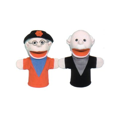 Get Ready Kids Grandparent Puppet Set