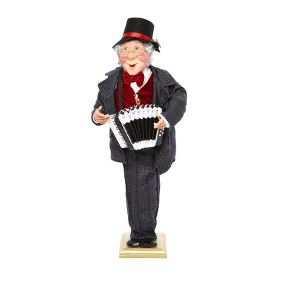 Kurt Adler Party Time Caroller Table Piece