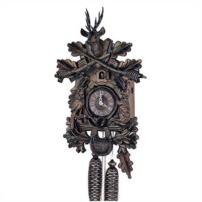 "Schneider 19"" Traditional 8-Day Movement Cuckoo Clock with a Deer"
