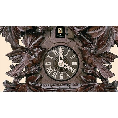 "Schneider 14"" Traditional Honey Finish Cuckoo Clock"