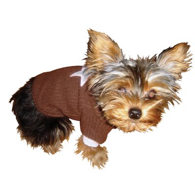 Star Dog Turtleneck in Brown