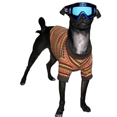 Hip Doggie Big Dog Ski Dog Turtleneck in Gold