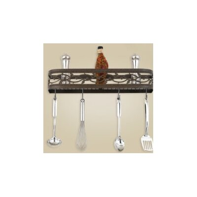 Hi-Lite Napa Wall Mounted Pot Rack