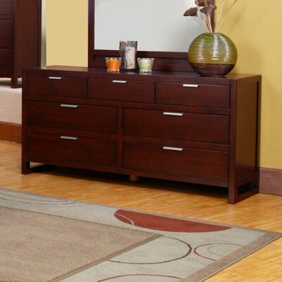 Alpine Furniture Camarillo 7 Drawer Dresser