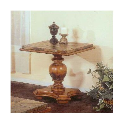 Alpine Furniture Rockchester End Table
