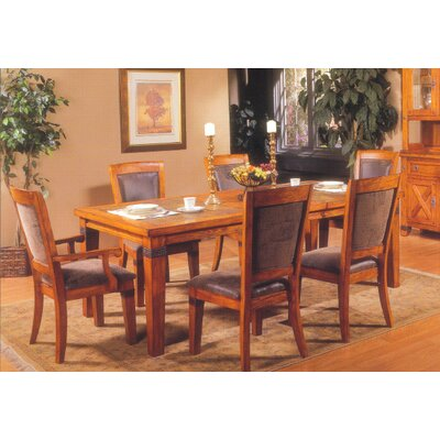Alpine Furniture Santa Fe 7 Piece Dining Set