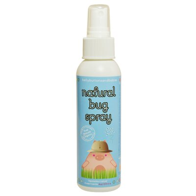 Belly Buttons and Babies Organic Natural Bug Spray (4 oz.)