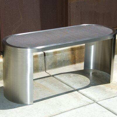 Studio Simic Prost Stainless Steel Entryway Bench
