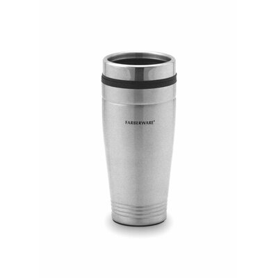 Farberware Stainless Steel Travel Mug (Set of 2)