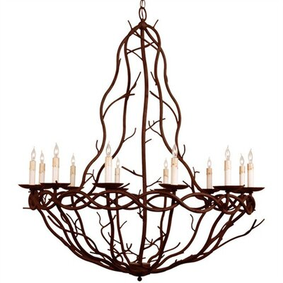 ARTERIORS Home Durango 12 Light Iron Chandelier