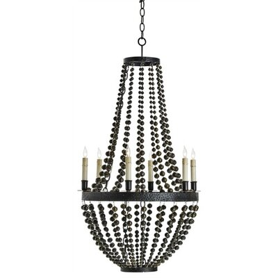ARTERIORS Home Carsten 6 Light Iron / Brass Chandelier