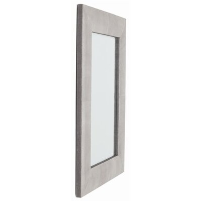 ARTERIORS Home Mojave Rectangle Crackled Leather Mirror