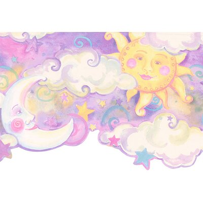 4 Walls Whimsical Children's Vol. 1 Celestial Border in Purple