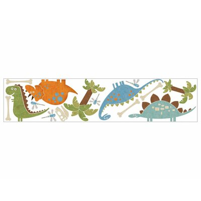 4 Walls Dino Might Freestyle Peel and Stick Decal in Blue / Green
