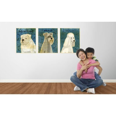 4 Walls Top Dog Wall Decal