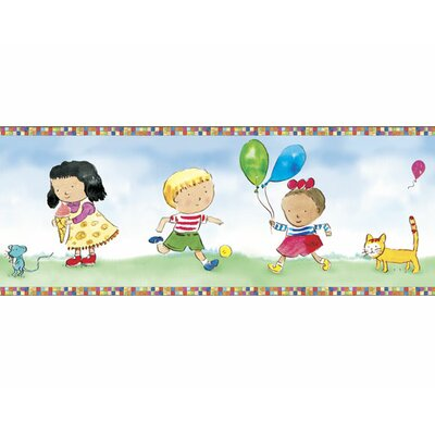 4 Walls Child's Play Mural Style Border