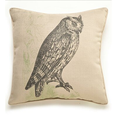 lava Owl Etching Pillow