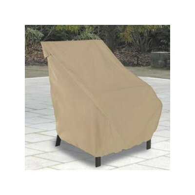 Classic Accessories High Back Patio Chair Cover in Sand