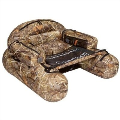 Classic Accessories Camo Gunnison Pontoon Float with Optional Fins