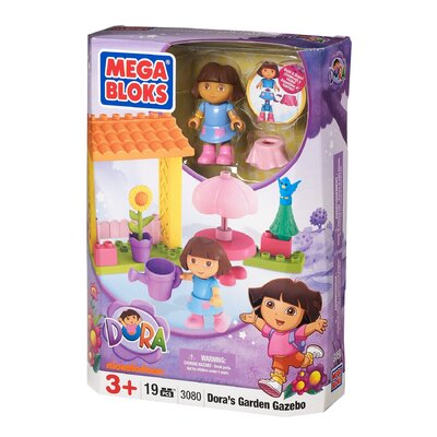 Mega Brands Nickelodeon Dora the Explorer Garden Gazebo