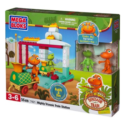 Mega Brands Dinosaur Train All Aboard the Dinosaur Train!