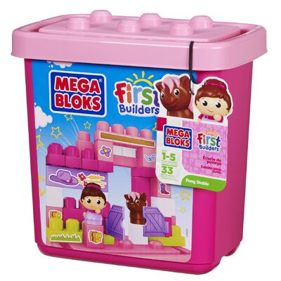 Mega Brands First Builders Pony Stable