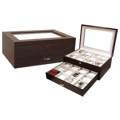 Brown Watch Storage Case