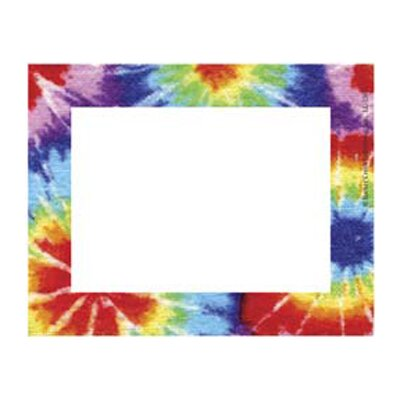 Barker Creek & Lasting Lessons Remember Me Name Tags Tie Dye