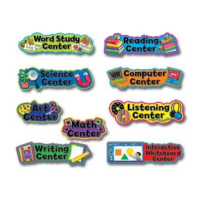 Creative Teaching Press Pp Learning Center Signs Mini Bb