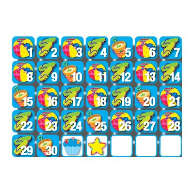 Creative Teaching Press Pp Seasonal Calendar Days June