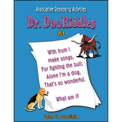 Critical Thinking Press Dr. Dooriddles Book B1 Gr 4-6