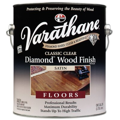 Varathane Classic Clear Diamond® Wood for Floors Satin