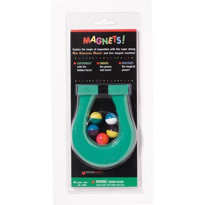 Dowling Magnets Mini Horseshoe Magnet &amp; 5 Magnet